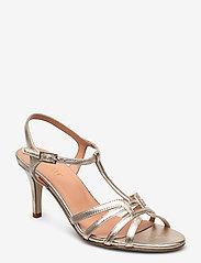 Apair - Dance sandal t-string - høyhælte sandaler - platino - 0