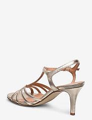 Apair - Dance sandal t-string - høyhælte sandaler - platino - 2