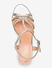 Apair - Dance sandal t-string - høyhælte sandaler - platino - 3