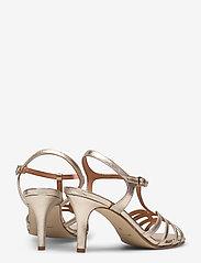 Apair - Dance sandal t-string - høyhælte sandaler - platino - 4