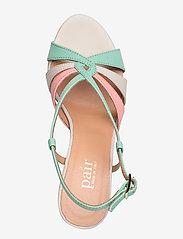 Apair - Dance sandal heelstring - høyhælte sandaler - multi colored - 3