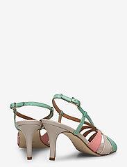 Apair - Dance sandal heelstring - høyhælte sandaler - multi colored - 4