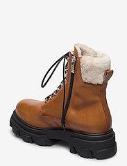 Apair - Chuncky ski - flat ankle boots - cognac - 2