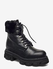Apair - Chuncky ski - flat ankle boots - nero - 0