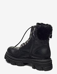 Apair - Chuncky ski - flat ankle boots - nero - 2