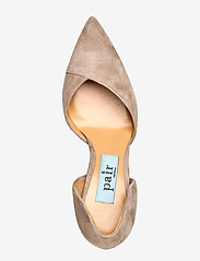 Apair - Open side low chunky - classic pumps - grey - 3