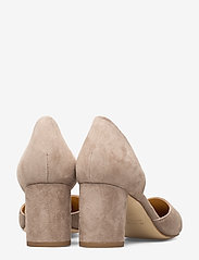 Apair - Open side low chunky - classic pumps - grey - 4