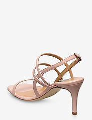 Apair - Square string sandal - høyhælte sandaler - nude - 2