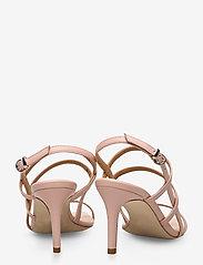 Apair - Square string sandal - høyhælte sandaler - nude - 4