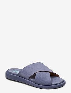 Plateau cross simple - jeans