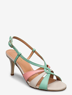 Dance sandal heelstring - heeled sandals - multi colored