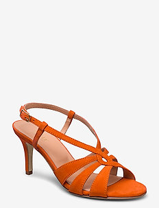 Dance sandal heelstring - sandalen met hak - orange
