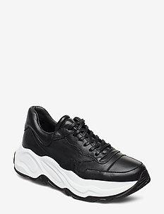 Sneaker black/white sole - BLACK