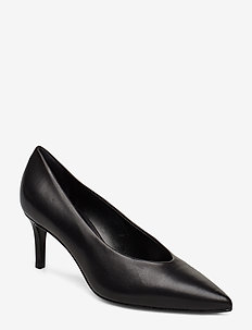 Pointed low pump closed - BLACK