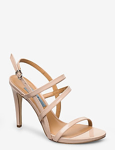 String sandal high - NUDE