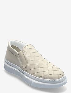 Wide braided chuncky slip on - slip-on sneakers - conchiglia (kit)