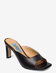 Mules open front - mules & slipins - black