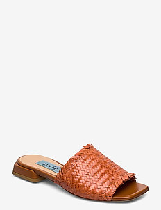 Braided flat sandal - CORATELLO