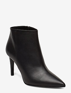 Low cut bootie stiletto - BLACK