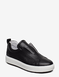 Wave sole slip on sneak - NERO