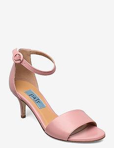 Simple heelcap sandal - högklackade sandaler - antico (rose)