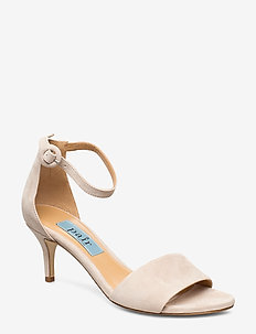 Simple heelcap sandal - NUDE