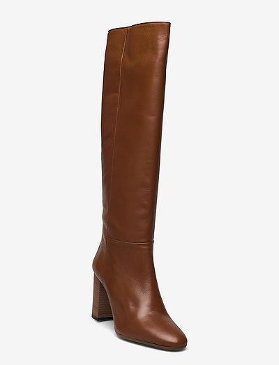 Classic boot - höga stövlar - cuoio