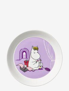 Moomin plate Ø19cm Snorkmaiden - middagstallerkener - purple