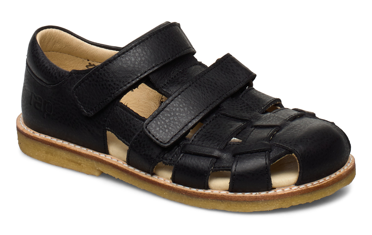 Arauto RAP ECOLOGICAL CLOSED SANDAL, FOR EXTRA WIDE FEETS - 37-BLACK
