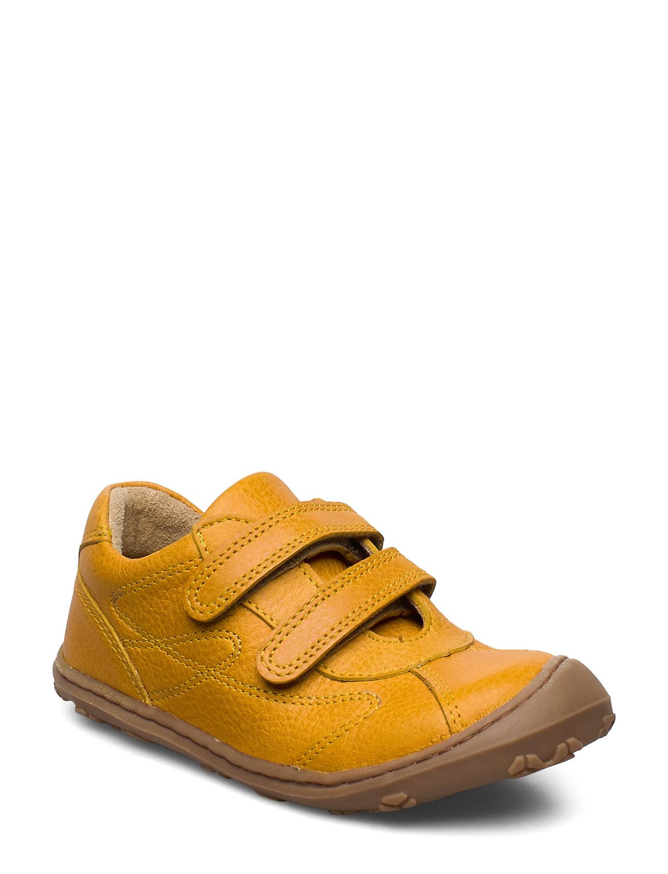 Image of Hand Made Shoe Sneakers Sko Gul Arauto RAP (3352579151)
