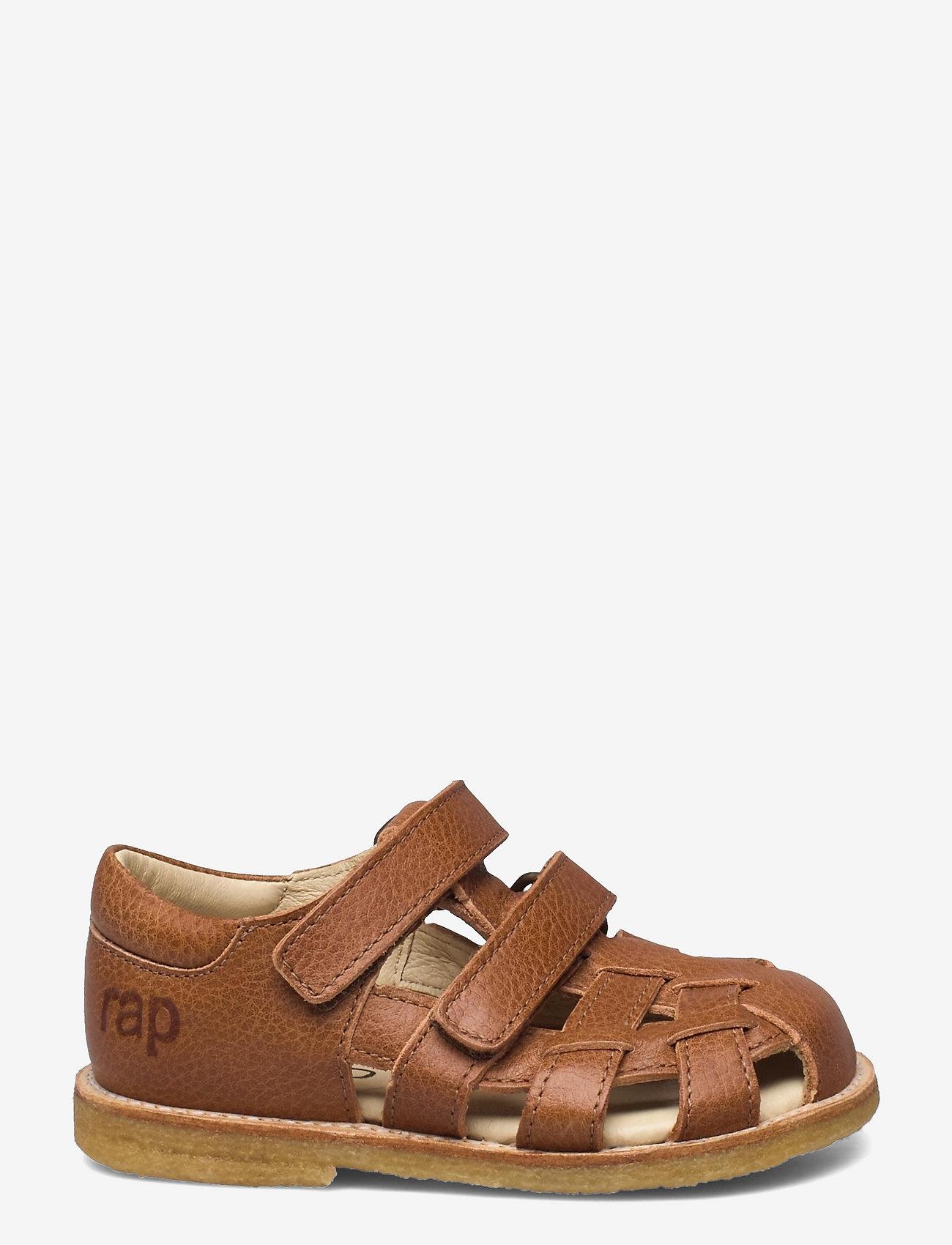 Arauto RAP - Hand Made Sandal - siksniņu sandales - cognac - 1