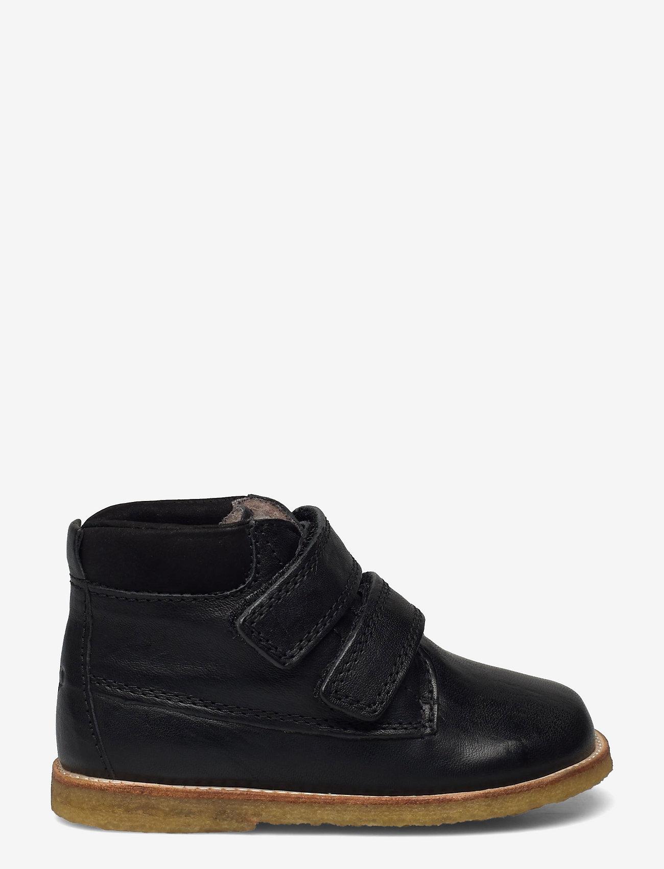 Arauto RAP - Tex Boot with velcro - apavi bērniem, kuri vēl nestaigā - black - 1