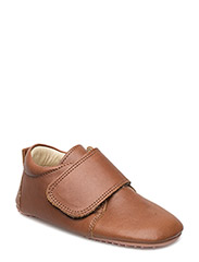 ECOLOGICAL HAND MADE Baby Shoe - 07-COGNAC
