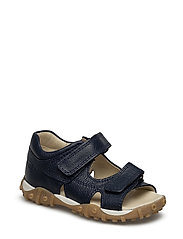 ECOLOGICAL OPEN TOE SANDAL, MEDIUM FIT - 35-NAVY