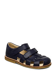 ECOLOGICAL CLOSED SANDAL, FOR EXTRA WIDE FEETS - 38-NAVY