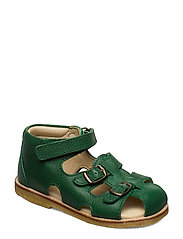 ECOLOGICAL STARTER SANDAL, MEDIUM/WIDE FIT - 37-GREEN