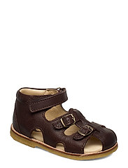 ECOLOGICAL STARTER SANDAL, MEDIUM/WIDE FIT - 39-DK. BROWN