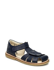 ECOLOGICAL CLOSED SANDAL, NARROW FIT - 15-NAVY