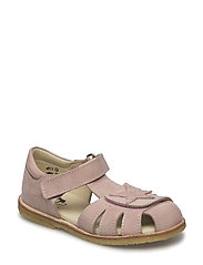 ECOLOGICAL CLOSED SANDAL, NARROW FIT - 40-PAT NUDE