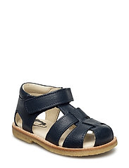 ECOLOGICAL HAND MADE Closed Sandal, Medium fit - 10-NAVY