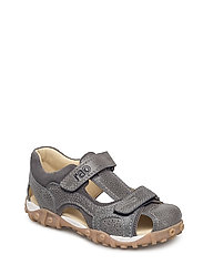 ECOLOGICAL HAND MADE Closed Sandal, Wide fit - 02-RIMI GREY