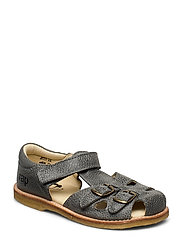 ECOLOGICAL CLOSED RETRO SANDAL, MEDIUM/WIDE FIT - 51-GREY