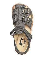 ECOLOGICAL CLOSED RETRO SANDAL, MEDIUM/WIDE FIT