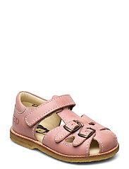 ECOLOGICAL CLOSED RETRO SANDAL, MEDIUM/WIDE FIT - 55-PINK ECO