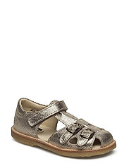 ECOLOGICAL CLOSED RETRO SANDAL, MEDIUM/WIDE FIT - 65-OPHIDEA CHAMP