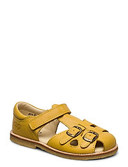 ECOLOGICAL CLOSED RETRO SANDAL, MEDIUM/WIDE FIT - 71-YELLOW