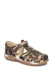 ECOLOGICAL CLOSED SANDAL, MEDIUM FIT - 52-ARMY