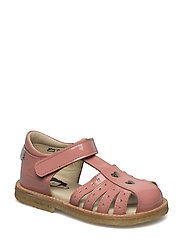 ECOLOGICAL HAND MADE Closed Sandal - 02-PAT PINK