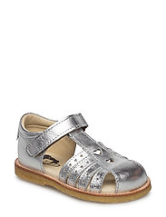 ECOLOGICAL HAND MADE Closed Sandal - 16-SILVER