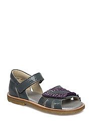 ECOLOGICAL HAND MADE Closed Sandal - 03-PAT LAVENDER
